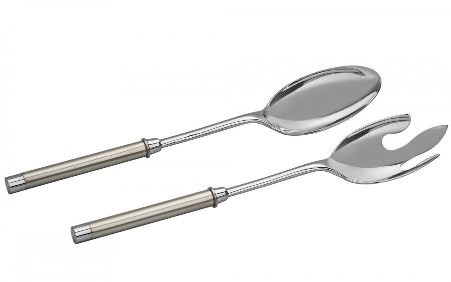 2x Łyżki do sałatek Perle