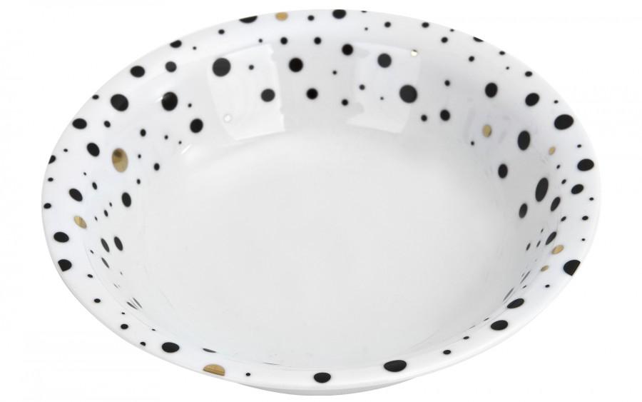 Salaterka 23 cm White Galaxy