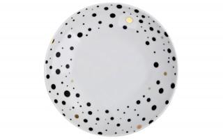 Talerz głęboki 21cm White Galaxy
