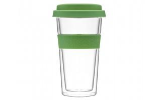 Kubek/szklanka termiczna Bizet 400 ml Green AMBITION