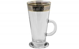 Komplet 2 filiżanek do latte White Lady