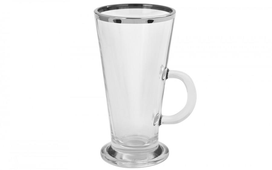 Komplet 2 filiżanek do latte Platinium Line