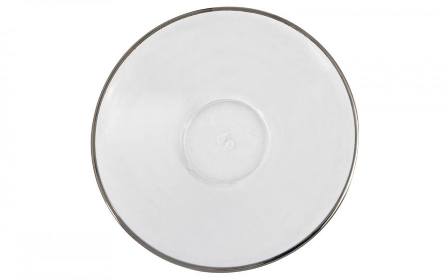 Zestaw 6 filiżanek ze spodkami do cappuccino Platinum Line