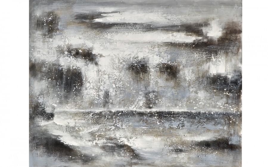 Obraz abstrakcyjny 80x100 cm Gray Skies