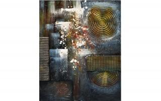 Obraz abstrakcyjny 80x100 cm Urban Galaxy
