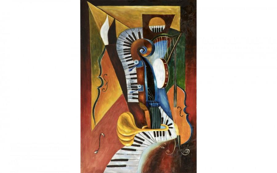 Obraz 100x150 cm Musical Party