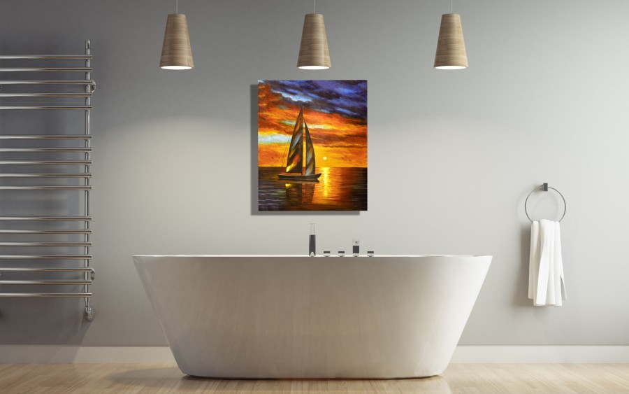 Obraz 80x100 cm Sundown Offshore