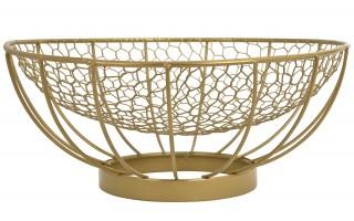 Misa dekoracyjna Cedric Gold śr. 30,5 cm