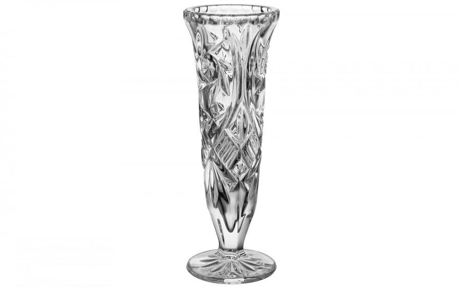 Wazon kryształowy Bohemia 21 cm