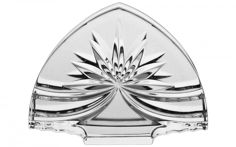 Serwetnik kryształowy Bohemia