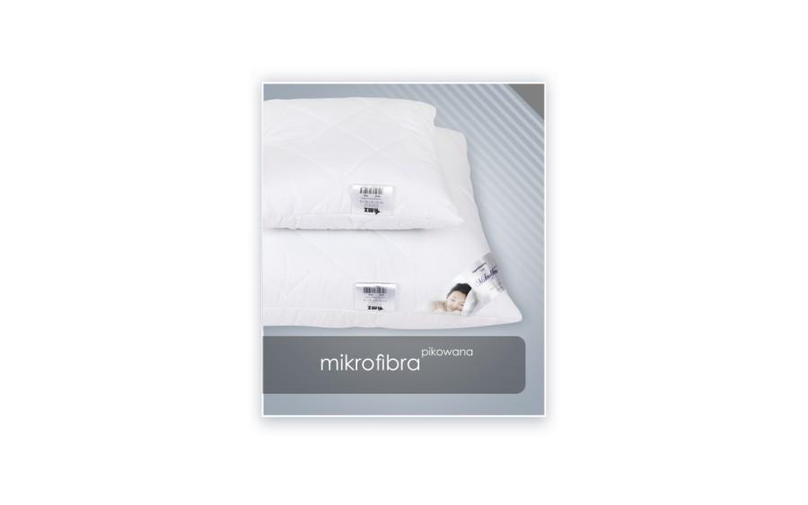 Poduszka antyalergiczna 50x70 cm MIKROFIBRA pikowana