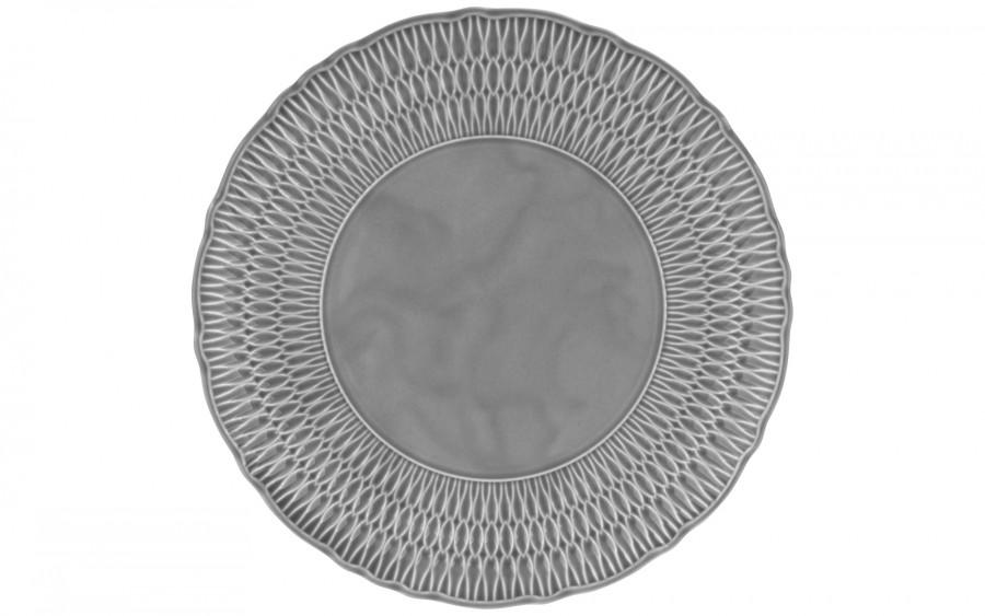 Półmisek okrągły 32 cm Sofia Szara