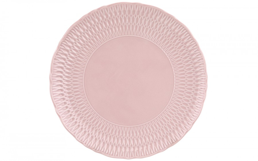 Półmisek okrągły 32 cm Sofia Różowa