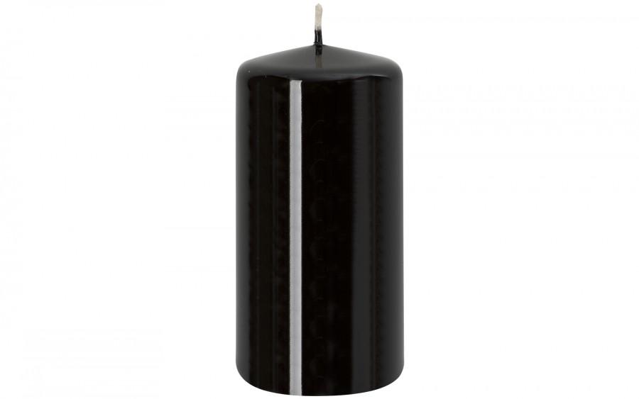 Świeca klubowa czarna śr. 5,8 cm
