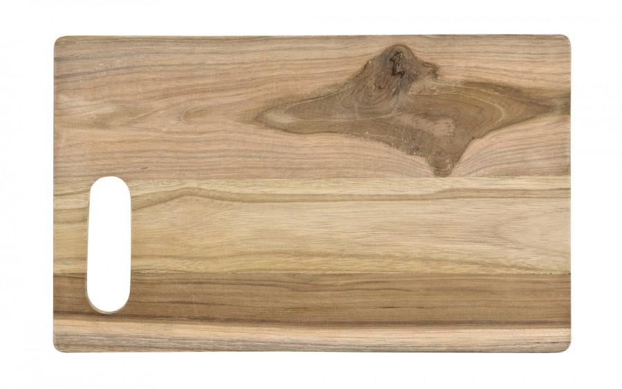 Deska z drewna tekowego 34x21 cm