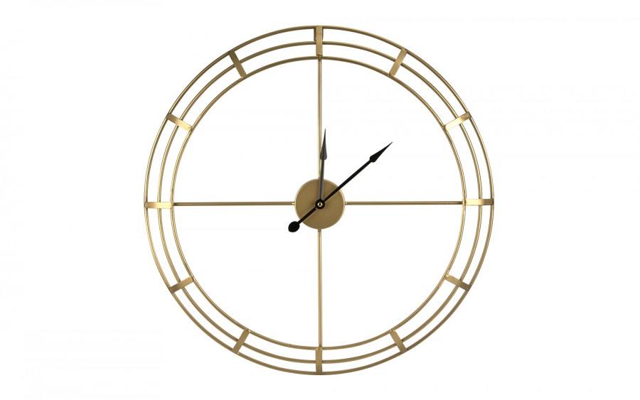 Zegar złoty 60 cm