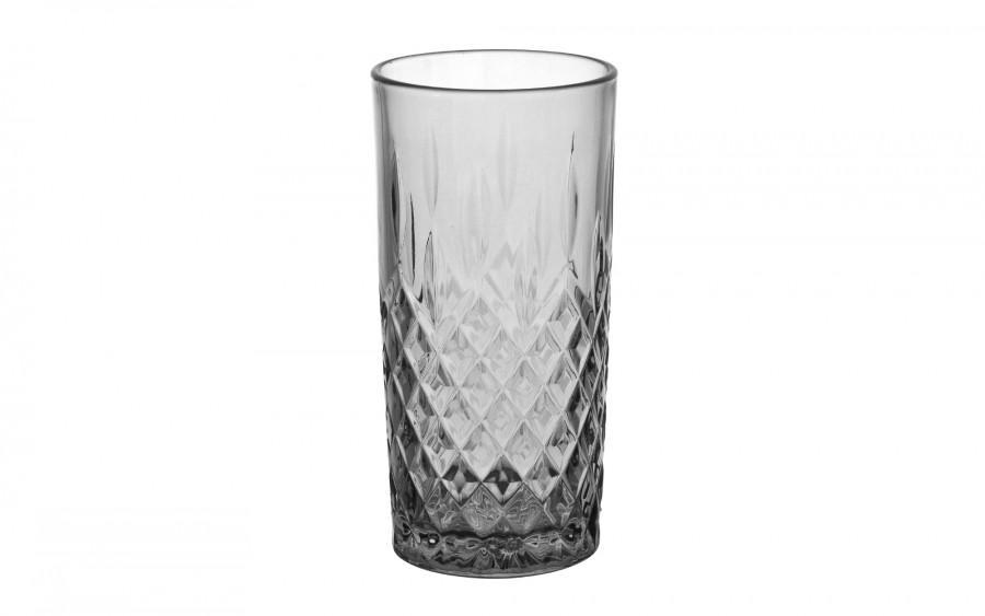 Szklanka wysoka 300ml szara