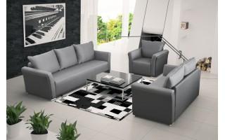 Dublin sofa 3F/BK