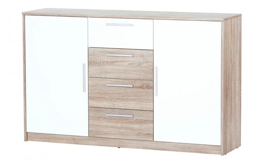 Milo 05 komoda 2-drzwiowa z 4 szufladami