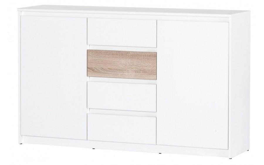 Wenecja 06 komoda 2-drzwiowa z 4 szufladami