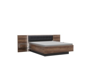 Bellevue Łóżko + szafki nocne BLQL161B
