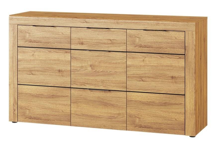 Komoda 2-drzwiowa z 3 szufladami Kama 45