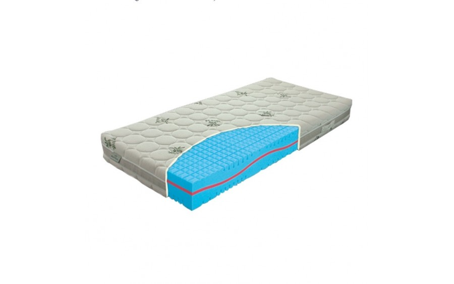 Materac piankowy Lavender duo 80x200