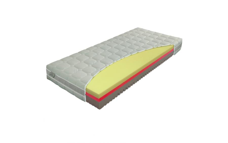Materac piankowy Comfort Antibacterial 70x200