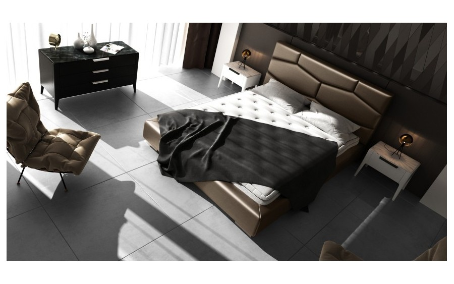 Łóżko tapicerowane Luxury VII