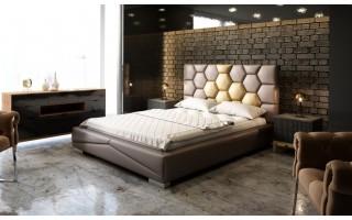 Łóżko tapicerowane Luxury VIII