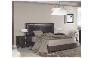 Łóżko Sarah Grey 180 cm (SABGRLT03)
