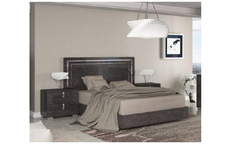 Łóżko 180/203 Sarah Grey (SABGRLT03)