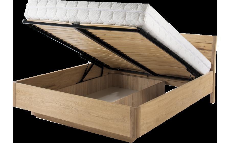 Łóżko z pojemnikiem 160 L16