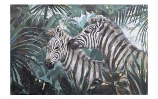 Obraz 180x120cm Dwie Zebry