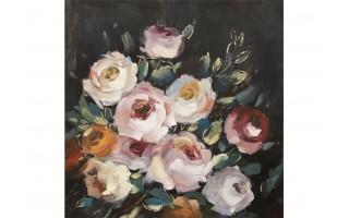 Obraz 120x120cm Kwiaty