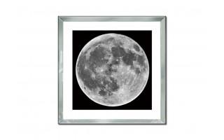 Obraz szklany 80x80 Księżyc