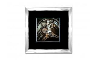 Obraz szklany 80x80 Kierownica