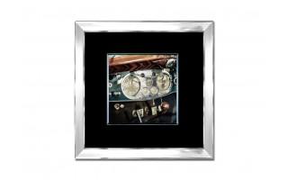 Obraz szklany 80x80 Kokpit