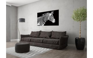 Obraz szklany 120x80 Zebra (260280)