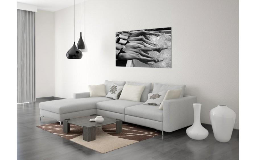 Obraz szklany 120x80 Nogi