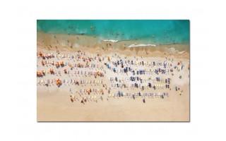 Obraz szklany 120x80 Plaża