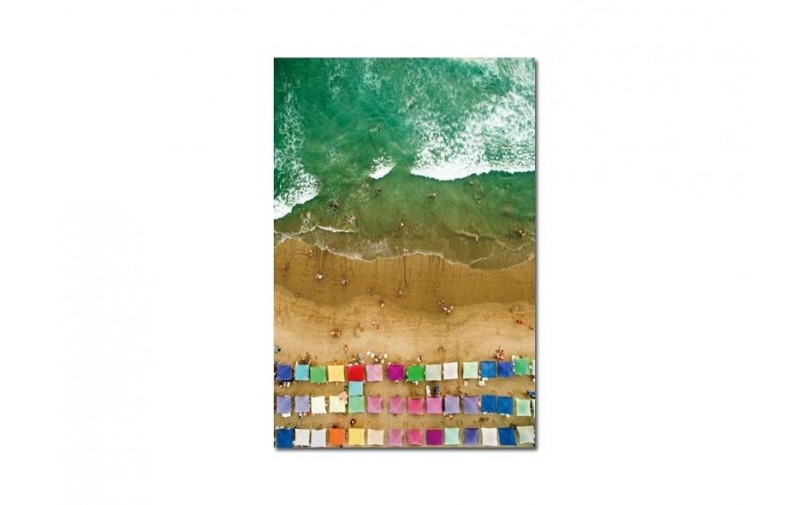 Obraz szklany 80x120 Na plaży (260259)