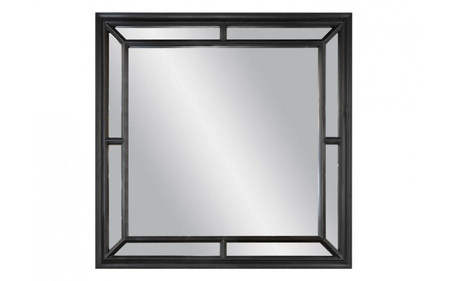Lustro 100x100cm Country Black (280722)