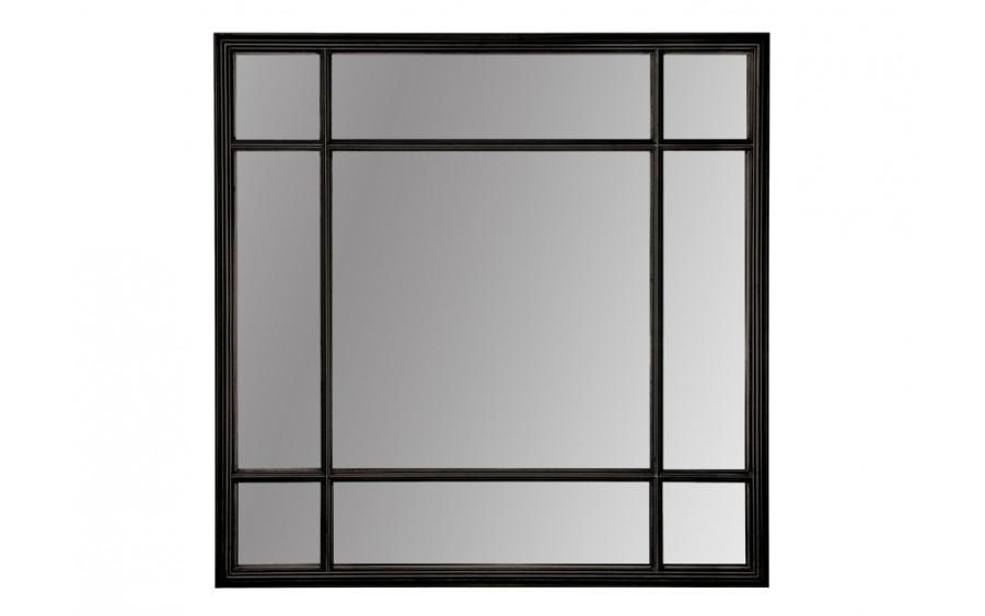 Lustro 100x100cm Country Black (280752)