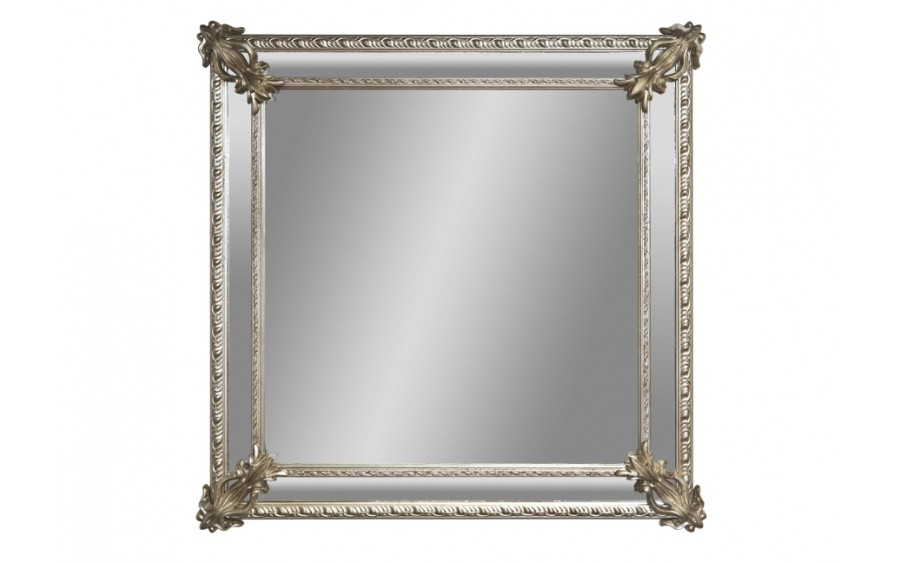 Lustro 92x92cm Coutry Silver/Old (280714)