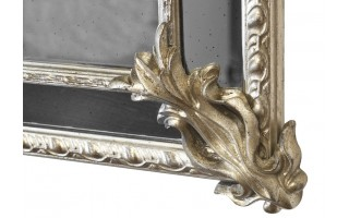 Lustro 132x92cm Country Silver/Old (280713)
