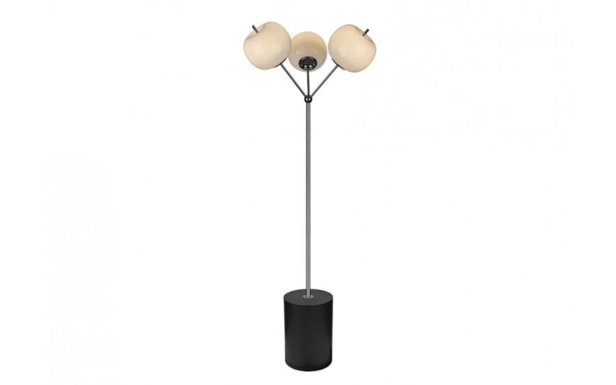 Lampa podłogowa Jabłko MJ5069-3 srebrna (277924)