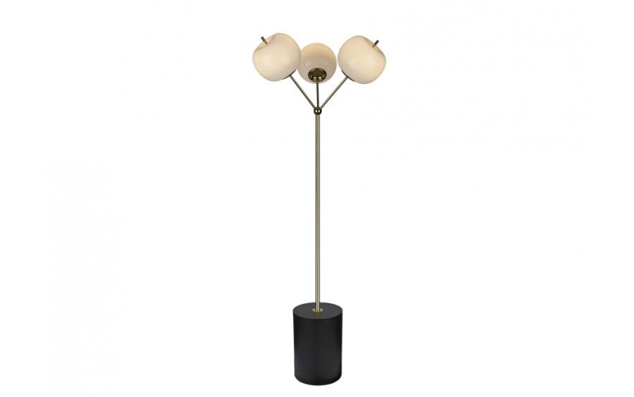 Lampa podłogowa Jabłko MJ5069-3GL złota (277925)
