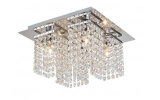 Lampa wisząca kryształowa IP44 18060-4