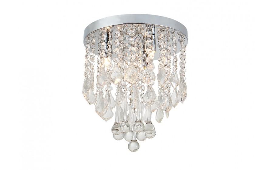 Lampa sufitowa kryształowa IP44 18045